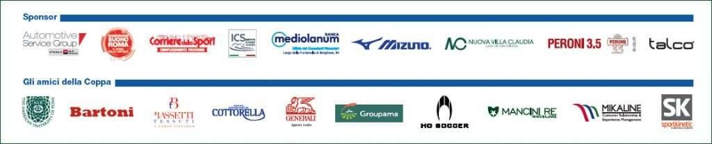 Gli sponsor della Coppa dei Canottieri 2018 di calcio a 5