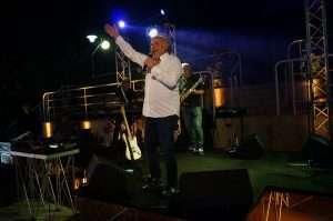 Festa dell'estate al Circolo Canottieri Lazio con Jerry Calà