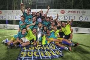 Coppa dei Canottieri 2018 di calcio a 5 presso il Circolo Canottieri Lazio