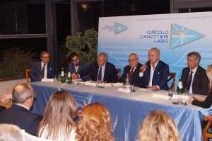 """Presentazione del libro """"Peccato originale"""" di Gianluigi Nuzzi presso il Circolo Canottieri Lazio"""