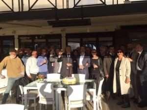 Compleanno del Presidente del CC Lazio Paolo Sbordoni