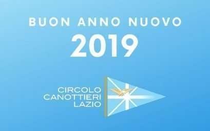 Auguri di buon anno nuovo dal Circolo Canottieri Lazio