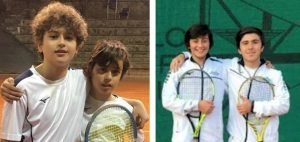 Squadre di tennis under 12 e under 14 del Circolo Canottieri Lazio