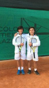 Squadra di tennis under 14 del Circolo Canottieri Lazio