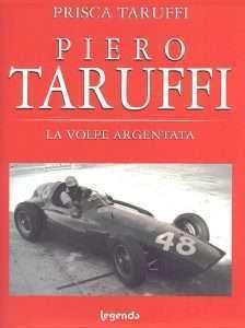 Copertina del libro di Prisca Taruffi dedicato a Piero Taruffi