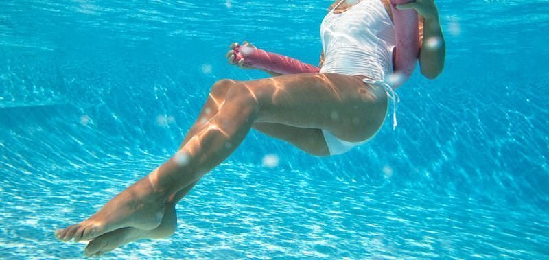 Corso di acqua fitness al Circolo Canottieri Lazio