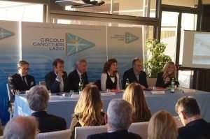 Presentazione del libro di Prisca Taruffi presso il Circolo Canottieri Lazio