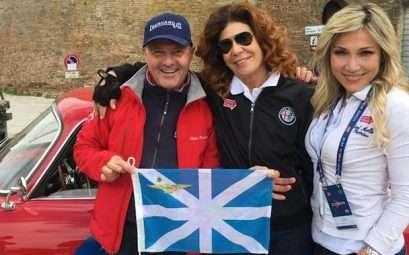Prisca Taruffi alla Mille Miglia 2019
