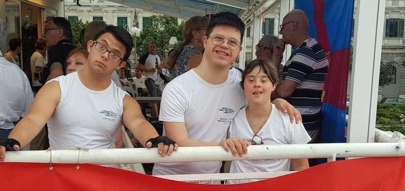 I ragazzi del CCLazio alla 4° Regata Nazionale Special Olympics