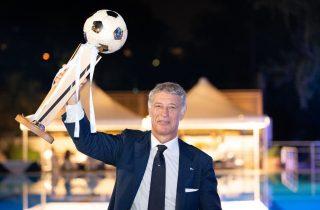 Il Presidente Paolo Sbordoni alla Coppa dei Canottieri 2019 al Circolo Canottieri Lazio