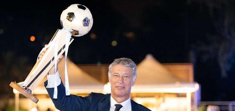Il Presidente del CCLazio Paolo Sbordoni allaCoppa dei Canottieri 2019 al Circolo Canottieri Lazio