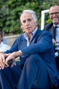 Gianni Malagò alla Coppa dei Canottieri 2019 di Calcio a 5