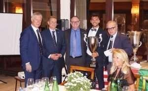 Cena di Gala del Primo torneo Memorial Navarra di Tennis al Circolo Canottieri Lazio