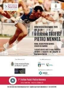 Locandina del Trofeo Pietro Mennea 2019