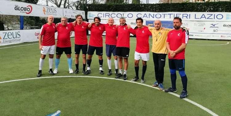 La Triestina, squadra vincitrice del Torneo Sociale di Calcetto 2019 del CCLazio