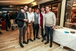 Aperitivo di Natale 2019 dei soci juniores del Circolo Canottieri Lazio