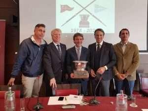 Conferenza stampa di presentazione del derby di Canottaggio 2020 tra Circolo Canottieri Lazio e Circolo Canottieri Roma