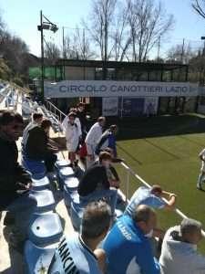 """Sfida di calcio a 5 """"Orazi contro Curiazi"""" al Circolo Canottieri Lazio"""