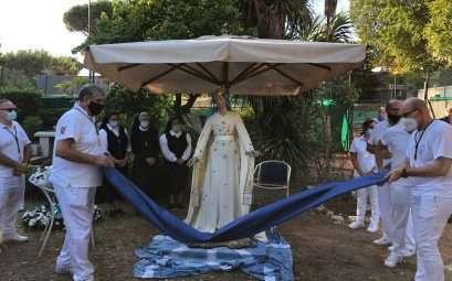 Madonna Fiumarola 2020 sul fiume Tevere