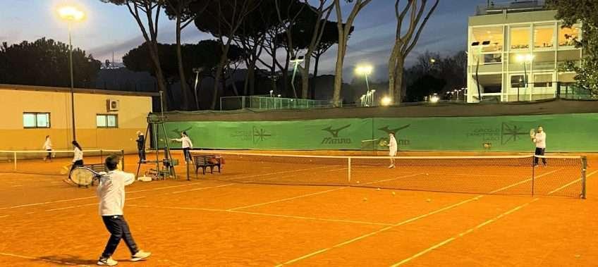 Scuola tennis Circolo Canottieri Lazio