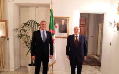 vertice tra presidente Condemi e Ambasciatore Algeria Boutache