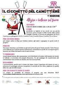 Programma del Cicchetto del Presidente al Circolo Canottieri Lazio
