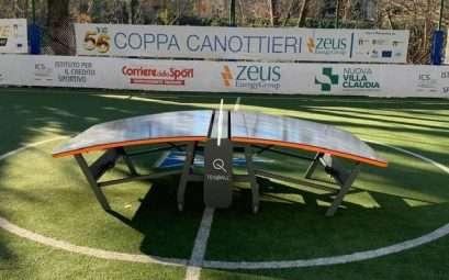 teqball al Circolo Canottieri Lazio