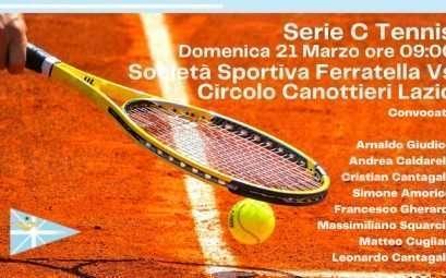 serie c di Tennis al Circolo Canottieri Lazio