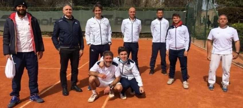 La squadra di Tennis serie C del Circolo Canottieri Lazio