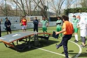 Saltech Cup di Teqball al Circolo Canottieri Lazio
