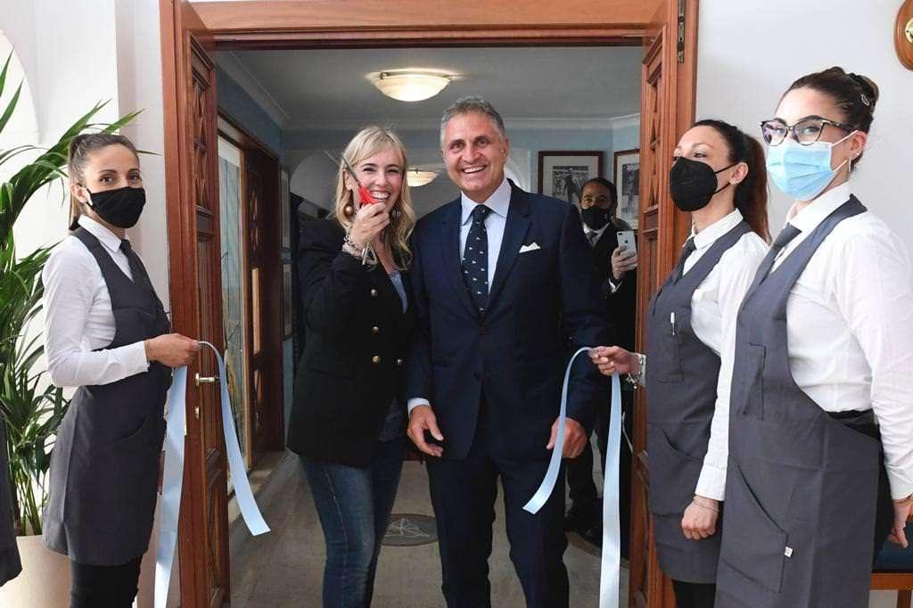 Inaugurazione nuovo ristorante del Circolo Canottieri Lazio