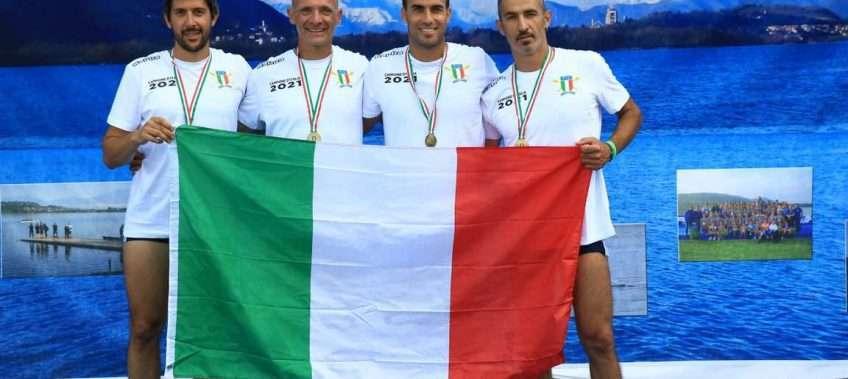 Il Circolo Canottieri Lazio ai Campionati Italiani Master di Canottaggio