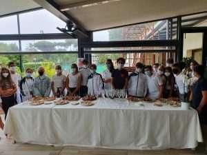 Presentazione della squadra di Canottaggio 2021-2022 del Circolo Canottieri Lazio