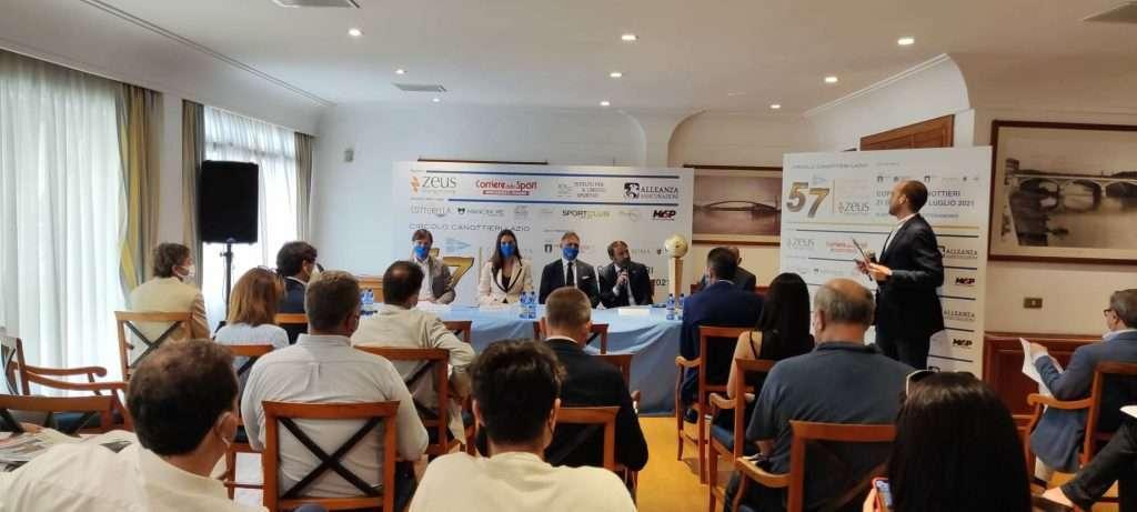 Conferenza stampa presentazione Coppa dei Canottieri 2021 al Circolo Canottieri Lazio