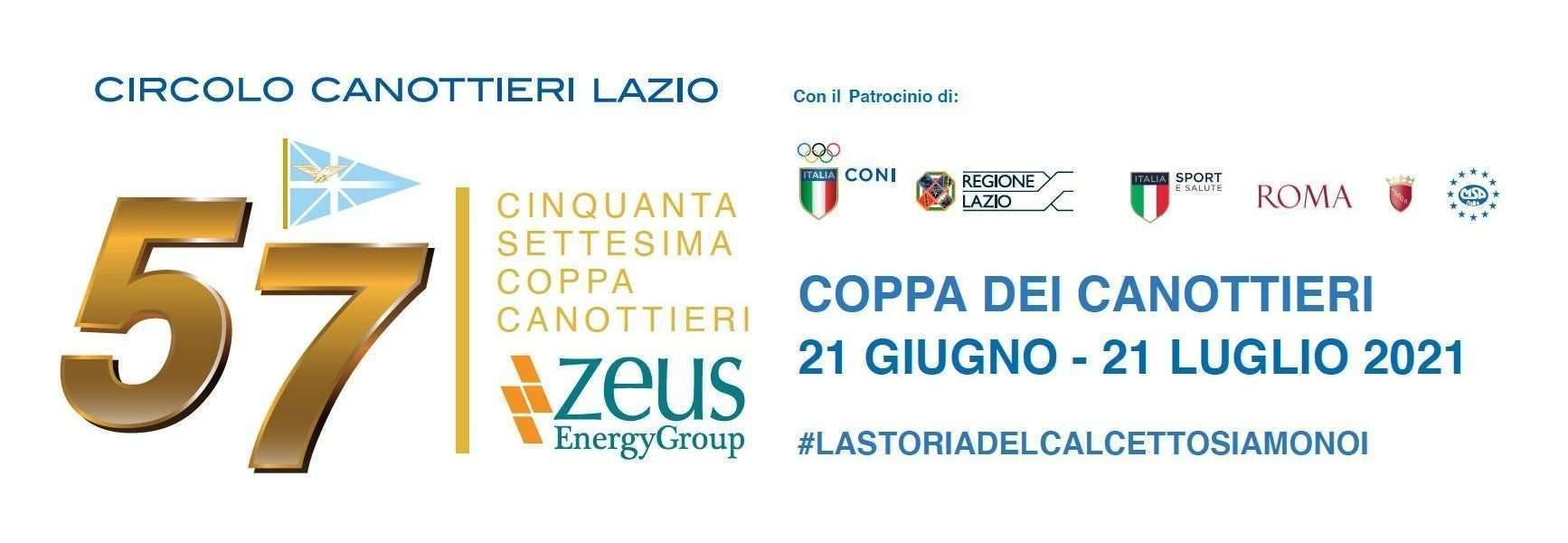 Coppa Canottieri 2021 di calcio a 5 organizzata dal Circolo Canottieri Lazio