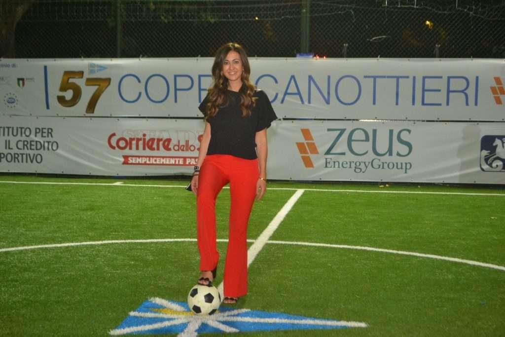 La Dott.ssa Veronica Tasciotti, Assessore Sport, Turismo e Grandi Eventi di Roma di Roma Capitale