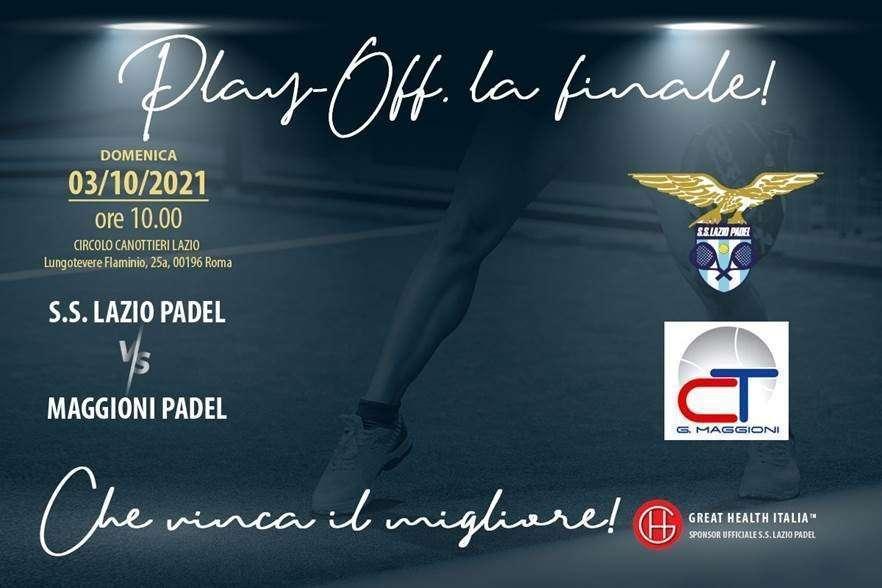 Finale playoff Padel serie C al Circolo Canottieri Lazio