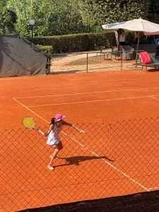 Francesca Scondi al Trofeo Canottieri Lazio di Tennis