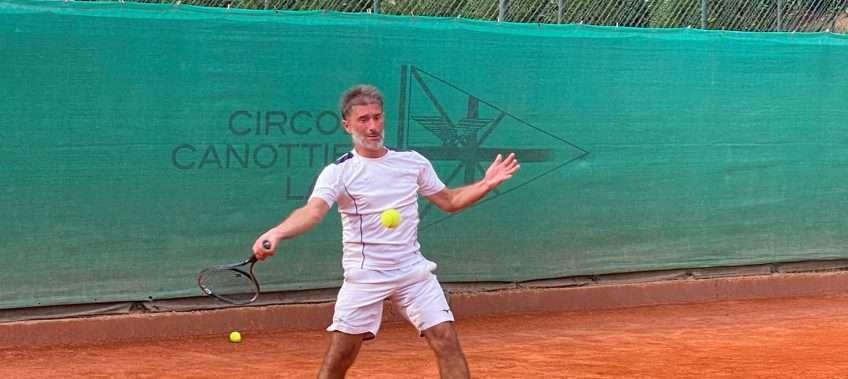 Cristian Cantagalli al Trofeo Canottieri Lazio di Tennis