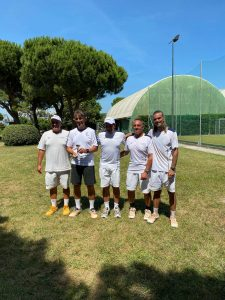 Il Circolo Canottieri Lazio alla Coppa dei Castelli 2021 di Tennis